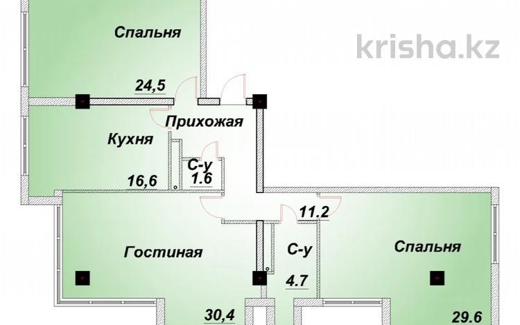 4-комнатная квартира, 123 м², 8/10 этаж, Володарского 40 — Тимирязева за 54 млн 〒 в Алматы, Бостандыкский р-н