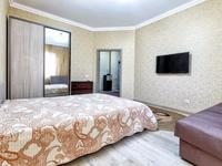 1-комнатная квартира, 41 м², 9 этаж посуточно, Тауелсиздик — Куйши Дина за 6 000 〒 в Нур-Султане (Астане), Алматы р-н