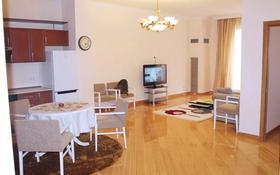 2-комнатная квартира, 80 м², 3/6 этаж посуточно, мкр Самал 301 — Хаджи Мукана за 15 000 〒 в Алматы, Медеуский р-н