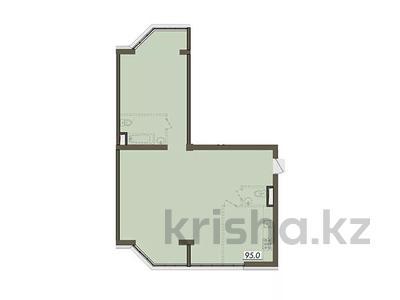 3-комнатная квартира, 95.8 м², мкр Думан-2, мкр Думан-2 25 за ~ 27.1 млн 〒 в Алматы, Медеуский р-н — фото 3