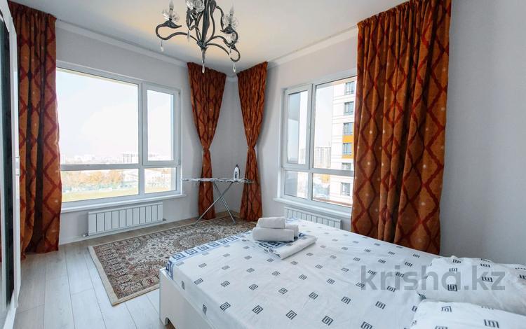 3-комнатная квартира, 90 м², 7/10 этаж посуточно, Тажибаевой 1/2 за 17 000 〒 в Алматы, Бостандыкский р-н