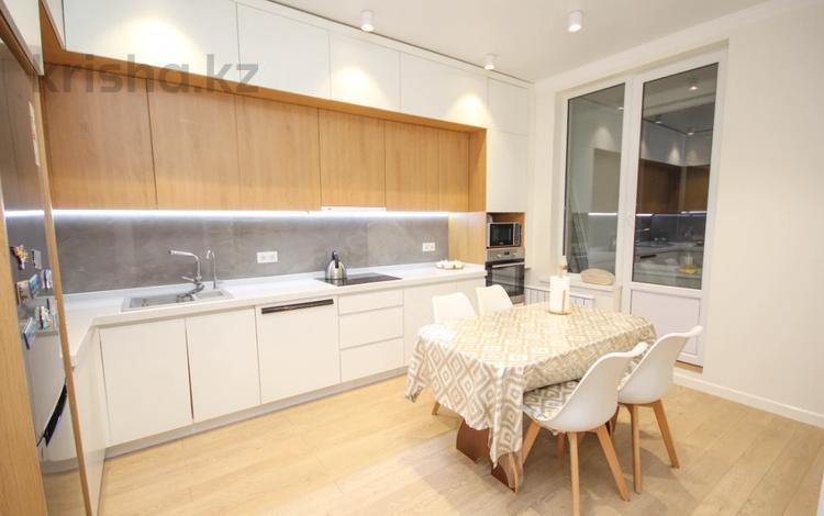 3-комнатная квартира, 100 м², 5/17 этаж, Тлендиева за 63.9 млн 〒 в Алматы, Бостандыкский р-н