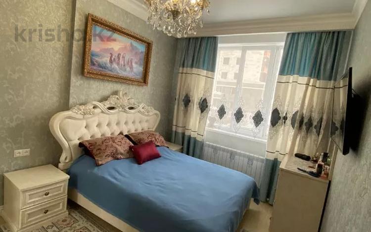 4-комнатная квартира, 99.7 м², 2/14 этаж, Ханов Керея и Жанибека 28 за 45 млн 〒 в Нур-Султане (Астана), Есиль р-н