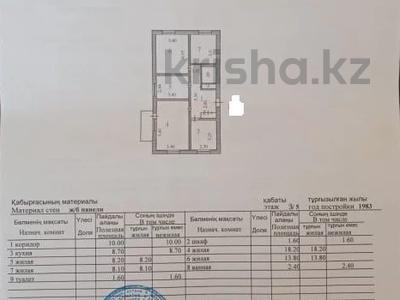 4-комнатная квартира, 73 м², 3/5 этаж, Конституции 21 за 18.5 млн 〒 в Нур-Султане (Астана), Сарыарка р-н