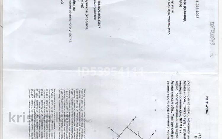 Участок 8 соток, Айжарық за 6.7 млн 〒 в Туздыбастау (Калинино)