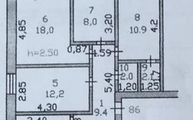 4-комнатная квартира, 75 м², 1/6 этаж, Шокана Уалиханова за 20 млн 〒 в Петропавловске
