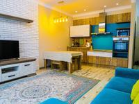 2-комнатная квартира, 55 м², 6/12 этаж посуточно, Навои — Торайгырова за 18 000 〒 в Алматы, Бостандыкский р-н