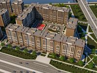 1-комнатная квартира, 38.34 м², 7/12 этаж, Бейсековой за ~ 12.4 млн 〒 в Нур-Султане (Астане), Есильский р-н