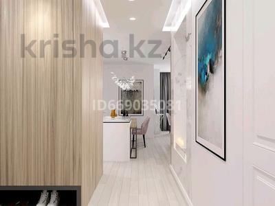 1-комнатная квартира, 40 м² по часам, проспект Бауыржана Момышулы за 2 500 〒 в Нур-Султане (Астане)