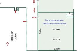 Склад бытовой , Абая — Тургута Озала за ~ 16 млн 〒 в Алматы, Бостандыкский р-н