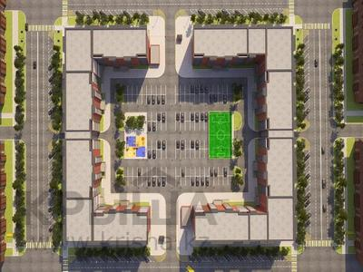 1-комнатная квартира, 52.7 м², мкр Батыс 2 49Д за ~ 7.8 млн 〒 в Актобе, мкр. Батыс-2