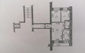 3-комнатная квартира, 64.1 м², 10/10 этаж, Засядько 58 — Валиханов за 19.1 млн 〒 в Семее