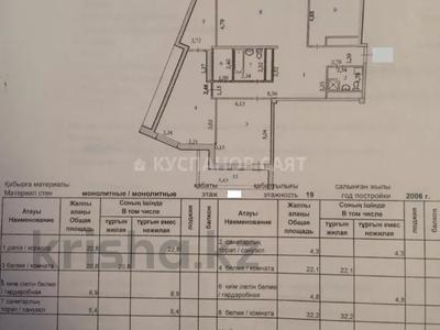 3-комнатная квартира, 141 м², 13/19 этаж, Шамши Калдаякова 11 за ~ 32.7 млн 〒 в Нур-Султане (Астана), Алматы р-н — фото 9