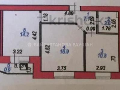 2-комнатная квартира, 54 м², 9/9 этаж, Мустафина за ~ 16.1 млн 〒 в Нур-Султане (Астана), Алматы р-н — фото 2