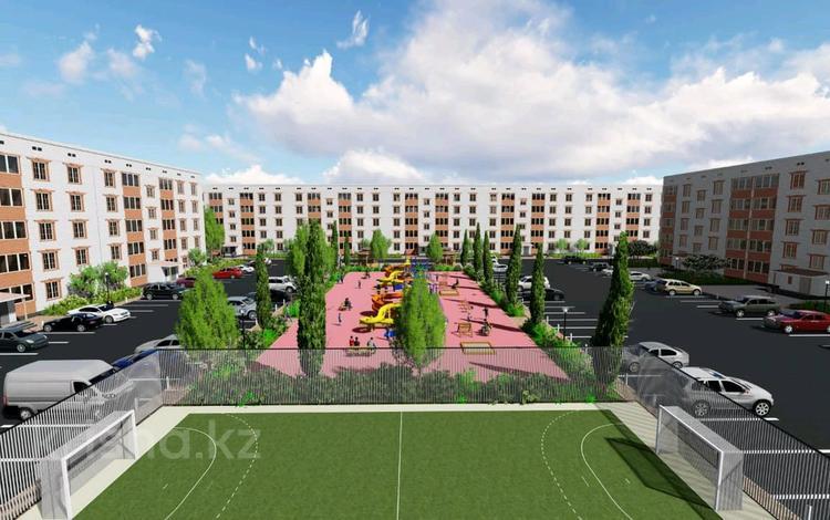 2-комнатная квартира, 64.5 м², мкр. Батыс-2 29а за ~ 9 млн 〒 в Актобе, мкр. Батыс-2
