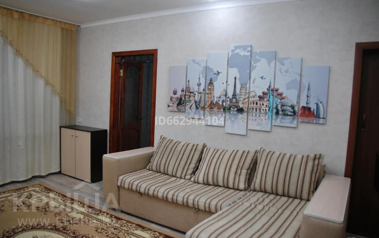 2-комнатная квартира, 44 м², 1/4 этаж помесячно, Лободы 16 — Ерубаева за 130 000 〒 в Караганде, Казыбек би р-н