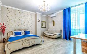 1-комнатная квартира, 54 м², 6/24 этаж посуточно, Сарайшык 5 — Акмешит за 8 000 〒 в Нур-Султане (Астана), Есиль р-н