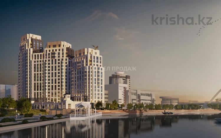 3-комнатная квартира, 110.5 м², Макатаева — Наркесен за ~ 55.1 млн 〒 в Нур-Султане (Астана), Есиль р-н