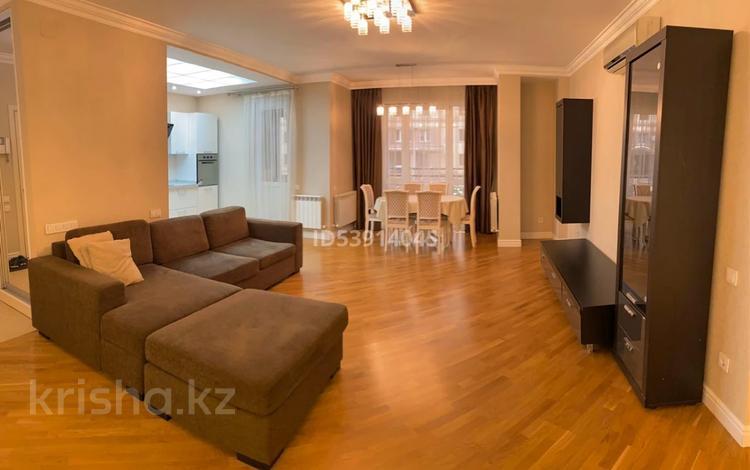 3-комнатная квартира, 111 м², 1/9 этаж, мкр Мирас, Аскарова Асанбая за 52.9 млн 〒 в Алматы, Бостандыкский р-н