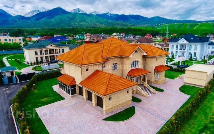 8-комнатный дом, 1100 м², Навои — Аль-Фараби за ~ 635.3 млн 〒 в Алматы, Бостандыкский р-н