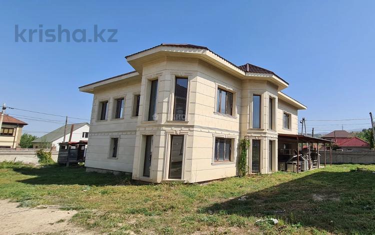 7-комнатный дом, 550 м², 10 сот., Талапты 123 за 220 млн 〒 в Алматы, Бостандыкский р-н