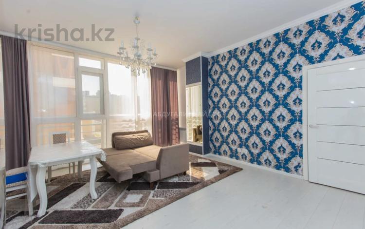 2-комнатная квартира, 57.7 м², 4/18 этаж, Керей и Жанибек хандар 22 за 27.5 млн 〒 в Нур-Султане (Астана), Есиль р-н
