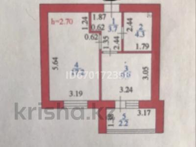 1-комнатная квартира, 37.3 м², 8/12 этаж, Кабанбай батыра 59/2 — Хусейн бен Талала за 16.9 млн 〒 в Нур-Султане (Астане), Есильский р-н