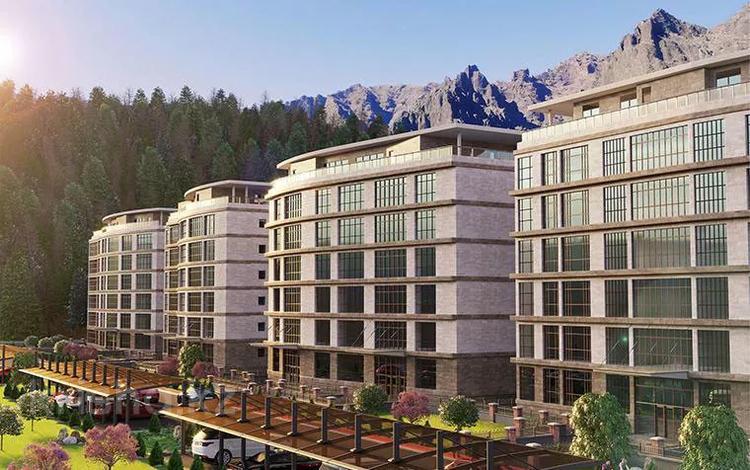 3-комнатная квартира, 83.3 м², ущелье Ремизовка, выше Аль-Фараби за ~ 41.2 млн 〒 в Алматы, Бостандыкский р-н