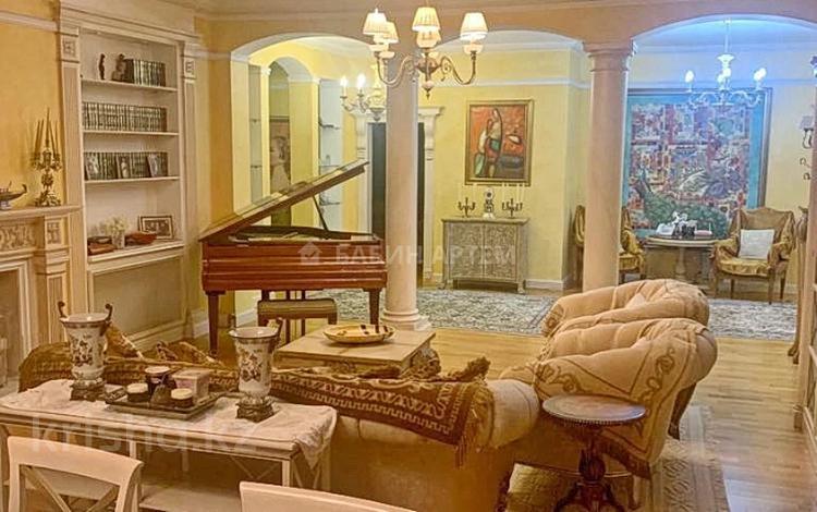 5-комнатная квартира, 265 м², 3/8 этаж, Жамбыла — Пушкина за 195 млн 〒 в Алматы, Медеуский р-н