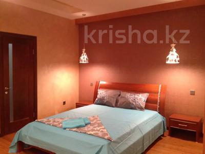 3-комнатная квартира, 130 м², 16/30 этаж посуточно, мкр Самал-2, Аль-Фараби 7 — Фурманова за 25 000 〒 в Алматы, Медеуский р-н