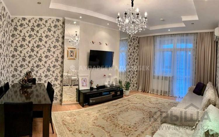 3-комнатная квартира, 112 м² помесячно, Сарайшык 34 за 250 000 〒 в Нур-Султане (Астана)