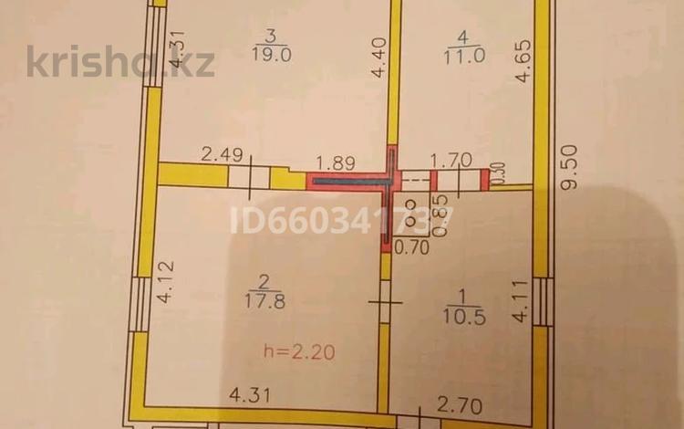 3-комнатный дом, 75 м², 6 сот., улица Новая Согра 1 за 3.5 млн 〒 в Усть-Каменогорске