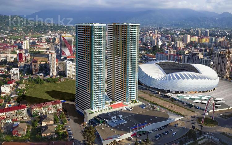 3-комнатная квартира, 79.7 м², J.Shartava street 16 за ~ 28.9 млн 〒 в Батуми