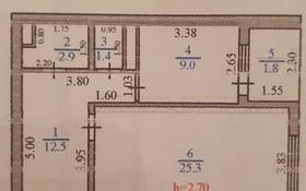 1-комнатная квартира, 52.9 м², 7/9 этаж, улица Райымбека 283 за ~ 17.5 млн 〒 в Талгаре