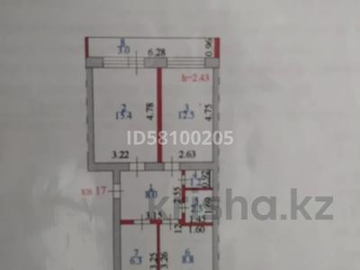 3-комнатная квартира, 56 м², 1/5 этаж, Фахд бен Абдулл Азиз 1 — Жарсуат за 15.7 млн 〒 в Нур-Султане (Астана), Сарыарка р-н