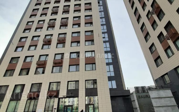 3-комнатная квартира, 82 м², 13/18 этаж, Сауран за ~ 40.5 млн 〒 в Нур-Султане (Астана), Алматы р-н