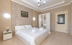 2-комнатная квартира, 80 м², 4/14 этаж посуточно, Мангилик Ел 17 — Алматы за 12 000 〒 в Нур-Султане (Астана), Есильский р-н