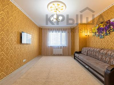 2-комнатная квартира, 80 м², 4/14 этаж посуточно, Мангилик Ел 17 — Алматы за 12 000 〒 в Нур-Султане (Астане), Есильский р-н