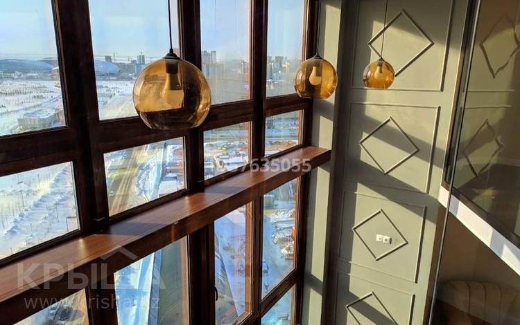 2-комнатная квартира, 87 м², 20/20 этаж посуточно, Туркестан — Орынбор за 20 000 〒 в Нур-Султане (Астана), Есиль р-н