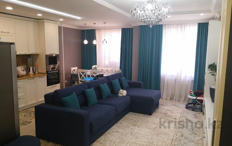 3-комнатная квартира, 97 м², 3/9 этаж, Аскарова Асанбая 21/20 за 55 млн 〒 в Алматы, Наурызбайский р-н