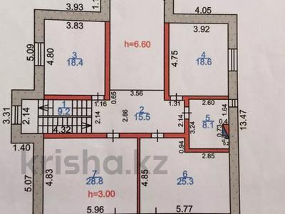 6-комнатный дом, 380 м², 9 сот., Жандарбековой 65 за ~ 39 млн 〒 в Караганде, Казыбек би р-н — фото 2