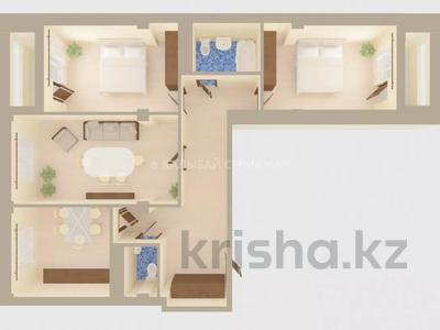 3-комнатная квартира, 103.3 м², 2/6 этаж, мкр Казахфильм 44Б — проспект Аль-Фараби за ~ 37.9 млн 〒 в Алматы, Бостандыкский р-н — фото 2