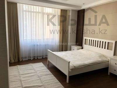 4-комнатная квартира, 110 м², 11/21 этаж помесячно, проспект Кабанбай батыра 43А за 450 000 〒 в Нур-Султане (Астана) — фото 12