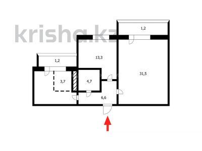 3-комнатная квартира, 80 м², 10/15 этаж, Шаймердена Косшыгулулы за 23.3 млн 〒 в Нур-Султане (Астана), Сарыарка р-н — фото 19