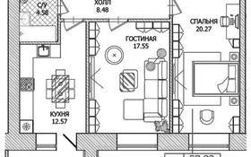 2-комнатная квартира, 65.36 м², 3/8 этаж, Шамши Калдаякова — Райымбек Батыр за ~ 28.1 млн 〒 в Нур-Султане (Астане), Алматы р-н