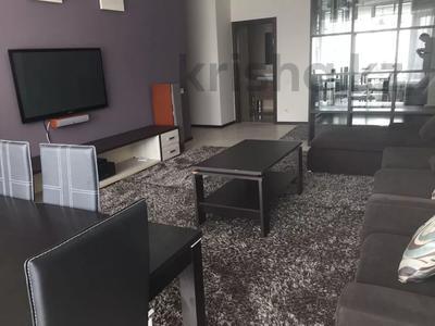 4-комнатная квартира, 160 м², 7/22 этаж помесячно, Достык 97 за 700 000 〒 в Алматы, Медеуский р-н — фото 5