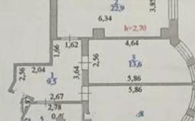 2-комнатная квартира, 69.4 м², 3/13 этаж, Бауыржан Момышулы — Сатпаева за 18.2 млн 〒 в Нур-Султане (Астана), Алматы р-н