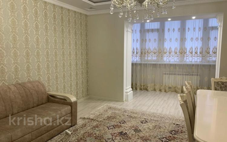 3-комнатная квартира, 115.7 м², 6/9 этаж, мкр. Батыс-2, Сактагана Баишева 7Ак3 за 33.9 млн 〒 в Актобе, мкр. Батыс-2
