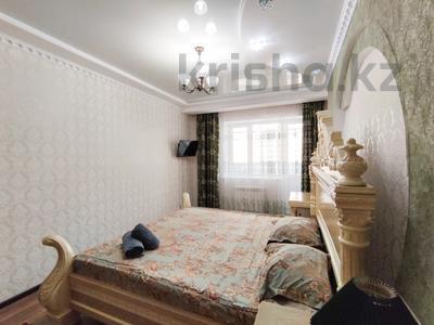 2-комнатная квартира, 80 м², 4/5 этаж посуточно, мкр. Батыс-2, проспект Алии Молдагуловой 56Дк1 — Мангилик Ел за 13 000 〒 в Актобе, мкр. Батыс-2