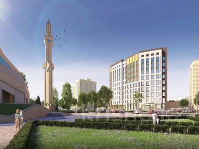 2-комнатная квартира, 73.37 м², Бейсековой — Жамбыла за ~ 19.1 млн 〒 в Нур-Султане (Астана)